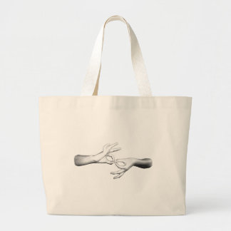 ASL Interpreter (3) Large Tote Bag