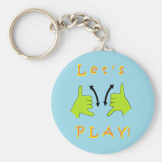ASL Let's PLAY! Key Ring