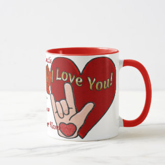 ASL Love (Personalized) Mug