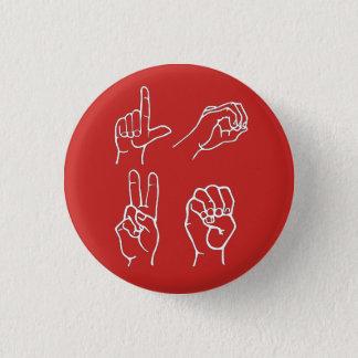 ASL Love Pin