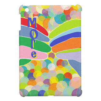 "ASL ""MORE"" on a Bright Bubble Background Cover For The iPad Mini"
