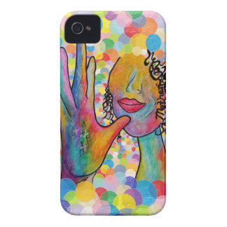 ASL Mother on a Bubble Background iPhone 4 Covers