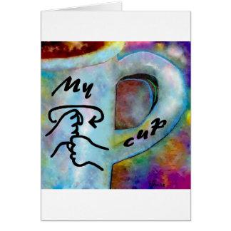 ASL My Coffee Cup Card