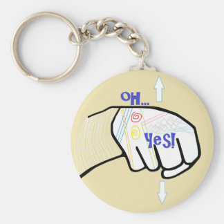 ASL Oh YES Key Ring