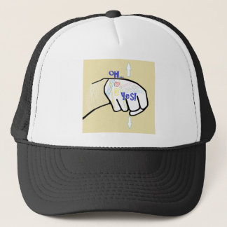 ASL Oh YES Trucker Hat