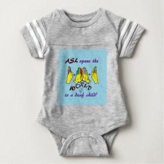 ASL Opens the World Baby Bodysuit