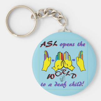 ASL Opens the World Key Ring