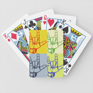 ASL Pop Art Playing Cards