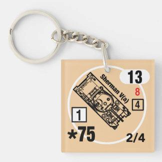 ASL Sherman V(a) Keychain Fob