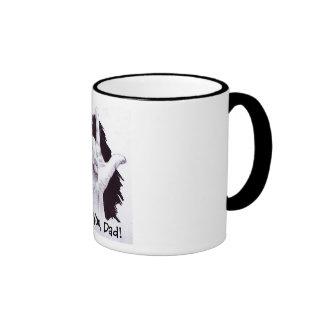 ASL Signing:  I Love You, Dad! Mug