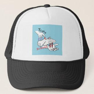 ASL Time for School Trucker Hat