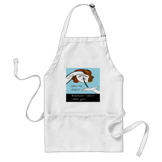 ASL Why Learn to Sign Standard Apron