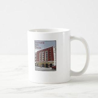 Asmara Art Deco - Cinema Impero Basic White Mug