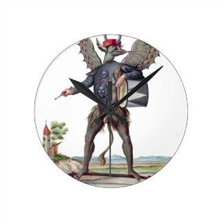 Asmodai, Demon of Wrath Round Clock