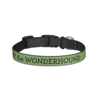 Asparagus Green Dog Collar Personalized Dog Collars