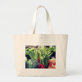 Asparagus Large Tote Bag