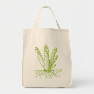 Asparagus Organic Grocery Tote Grocery Tote Bag