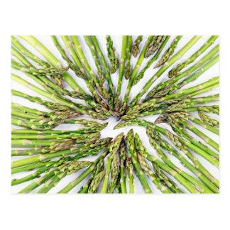 Asparagus Towards Center Postcard