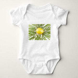 Asparagus towards Lemon Baby Bodysuit