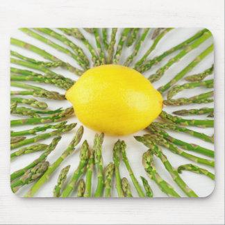 Asparagus towards Lemon Mouse Pad