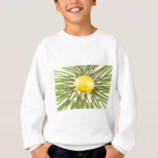 Asparagus towards Lemon Sweatshirt