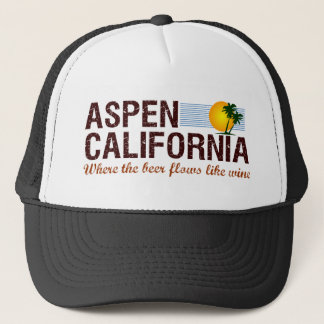 Aspen California Trucker Hat