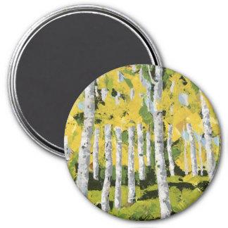 Aspen Calm 7.5 Cm Round Magnet