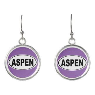 Aspen Colorado Earrings