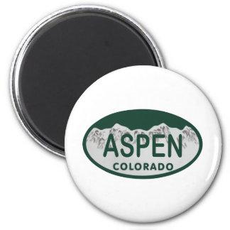 Aspen Colorado license plate Magnet