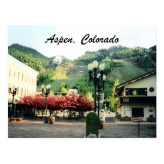 Aspen, Colorado Postcard