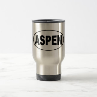 Aspen Colorado Travel Mug