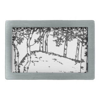 Aspen Grove Belt Buckle