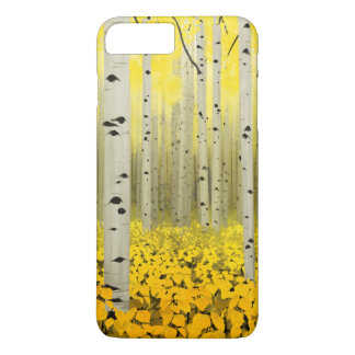 Aspen Grove in Fall Yellow Phone Case