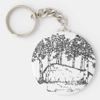 Aspen Grove Key Ring