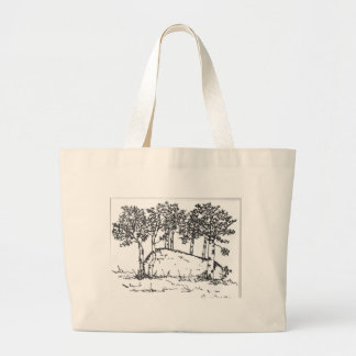 Aspen Grove Large Tote Bag