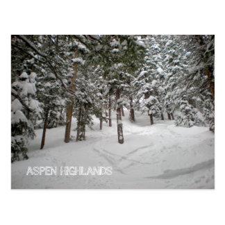 ASPEN HIGHLANDS POSTCARD