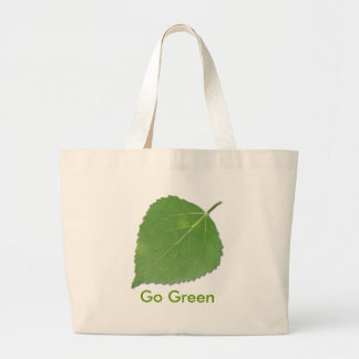 Aspen Leaf EcoBag Large Tote Bag