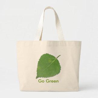 Aspen Leaf EcoBag Canvas Bag