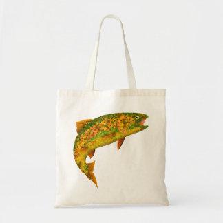 Aspen Leaf Rainbow Trout 2 Tote Bag