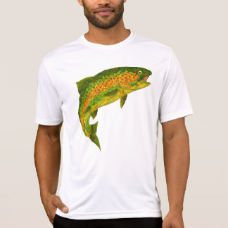 Aspen Leaf Rainbow Trout 4 T-Shirt