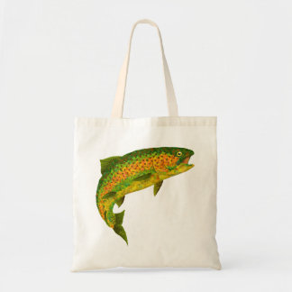Aspen Leaf Rainbow Trout 4 Tote Bag
