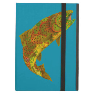 Aspen Leaf Rainbow Trout 6 Case For iPad Air