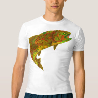 Aspen Leaf Rainbow Trout 6 T-Shirt