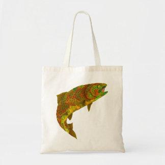 Aspen Leaf Rainbow Trout 6 Tote Bag