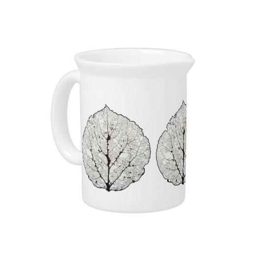 Aspen Leaf Skeleton 1 Beverage Pitchers