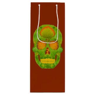 Aspen Leaf Skull 10 Wine Gift Bag
