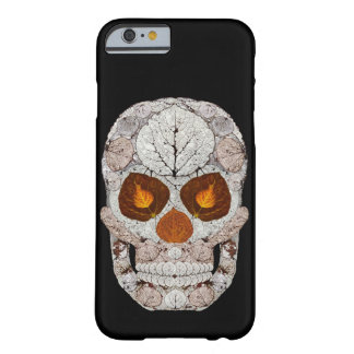 Aspen Leaf Skull 11 Barely There iPhone 6 Case