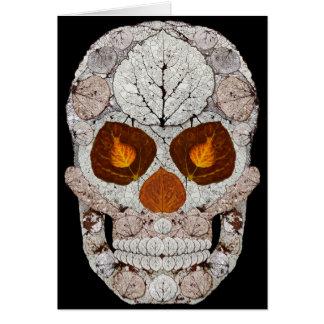 Aspen Leaf Skull 11 Card