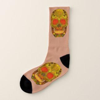 Aspen Leaf Skull 12 Socks