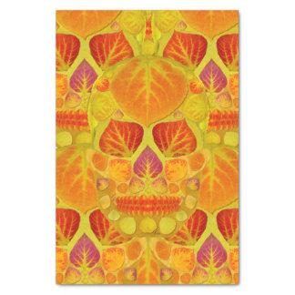 Aspen Leaf Skull 13 Tissue Paper